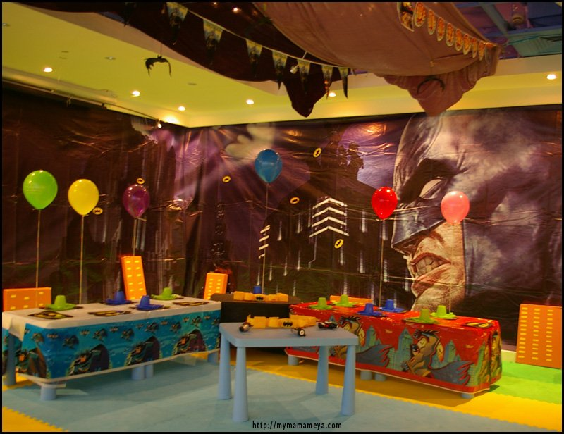 Batman Birthday Party Ideas