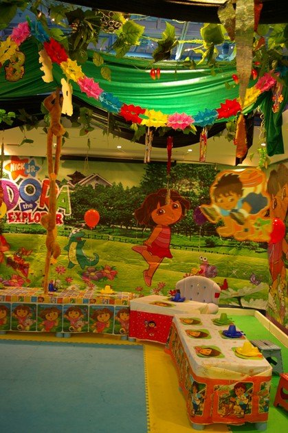 MaMaMeYa Dora the Explorer Theme Birthday Party