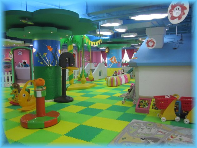 Shanghai mamameya mom n kids club play area for Toddler play places