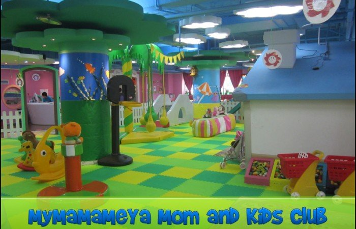 mymamameya mom and kids club play area