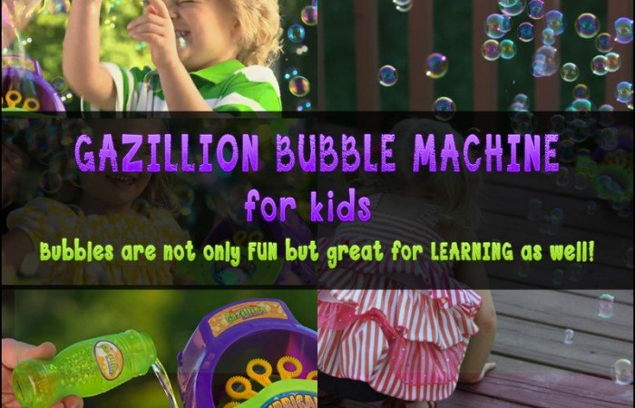 Funrise Gazillion Bubble Machine for Kids