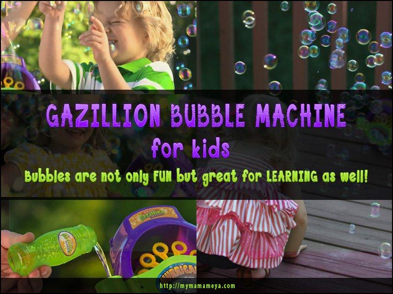 Gazillion Bubble Machine for kids