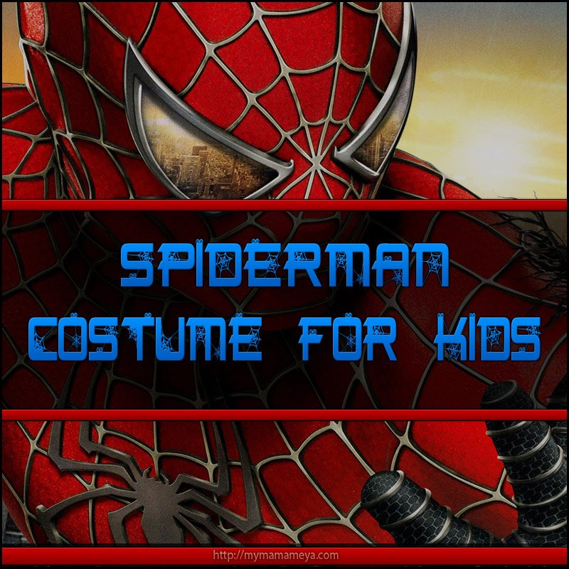 Spiderman Costume For Kids